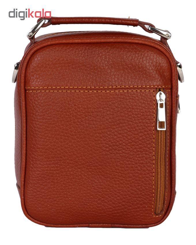 کیف دوشی رویال چرم مدل W56-Brown main 1 3