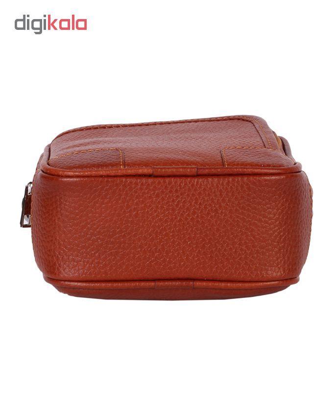 کیف دوشی رویال چرم مدل W56-Brown main 1 4
