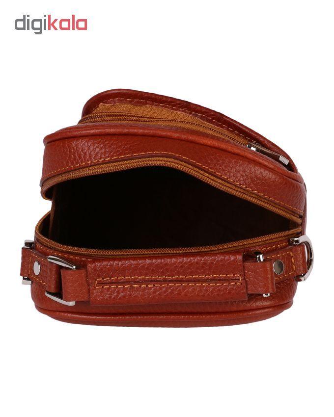کیف دوشی رویال چرم مدل W56-Brown main 1 5