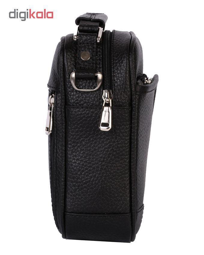 کیف دوشی رویال چرم مدل W56-Black main 1 2