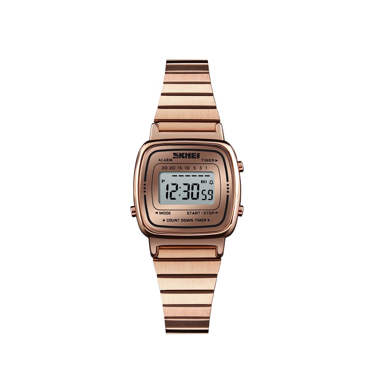 ساعت مچی دیجیتال زنانه اسکمی مدل 1252 کد 01 38