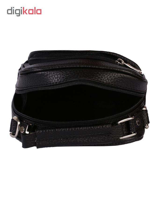کیف دوشی رویال چرم مدل W56-Black main 1 5