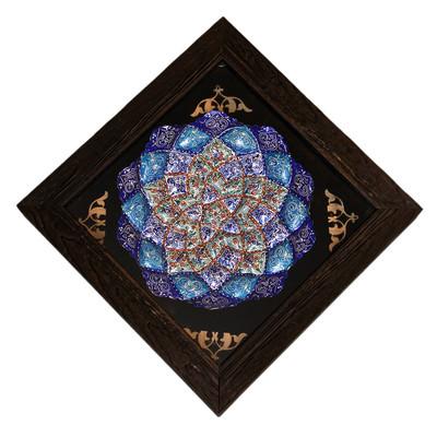 Photo of تابلو بشقاب میناکاری   کد 6-10087