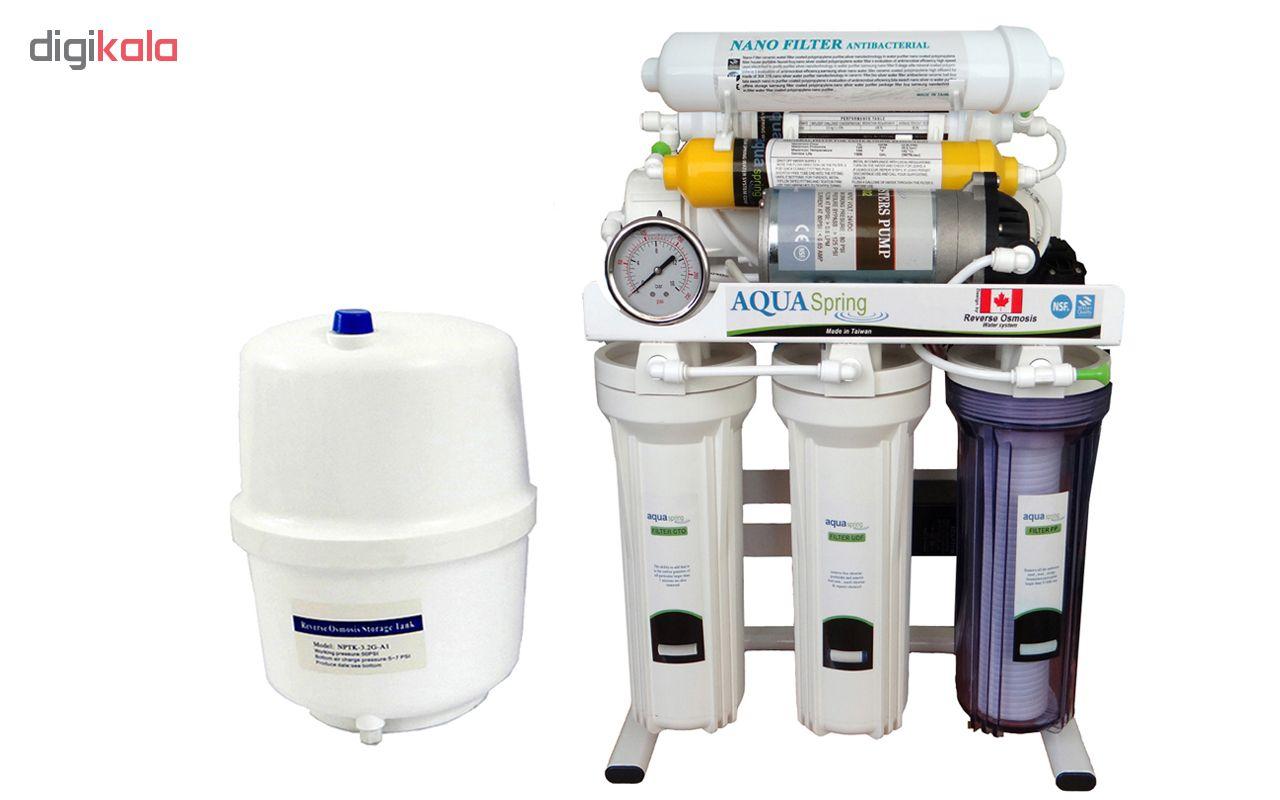 تصفیه آب خانگی آکوآاسپرینگ مدل RO-SN2050
