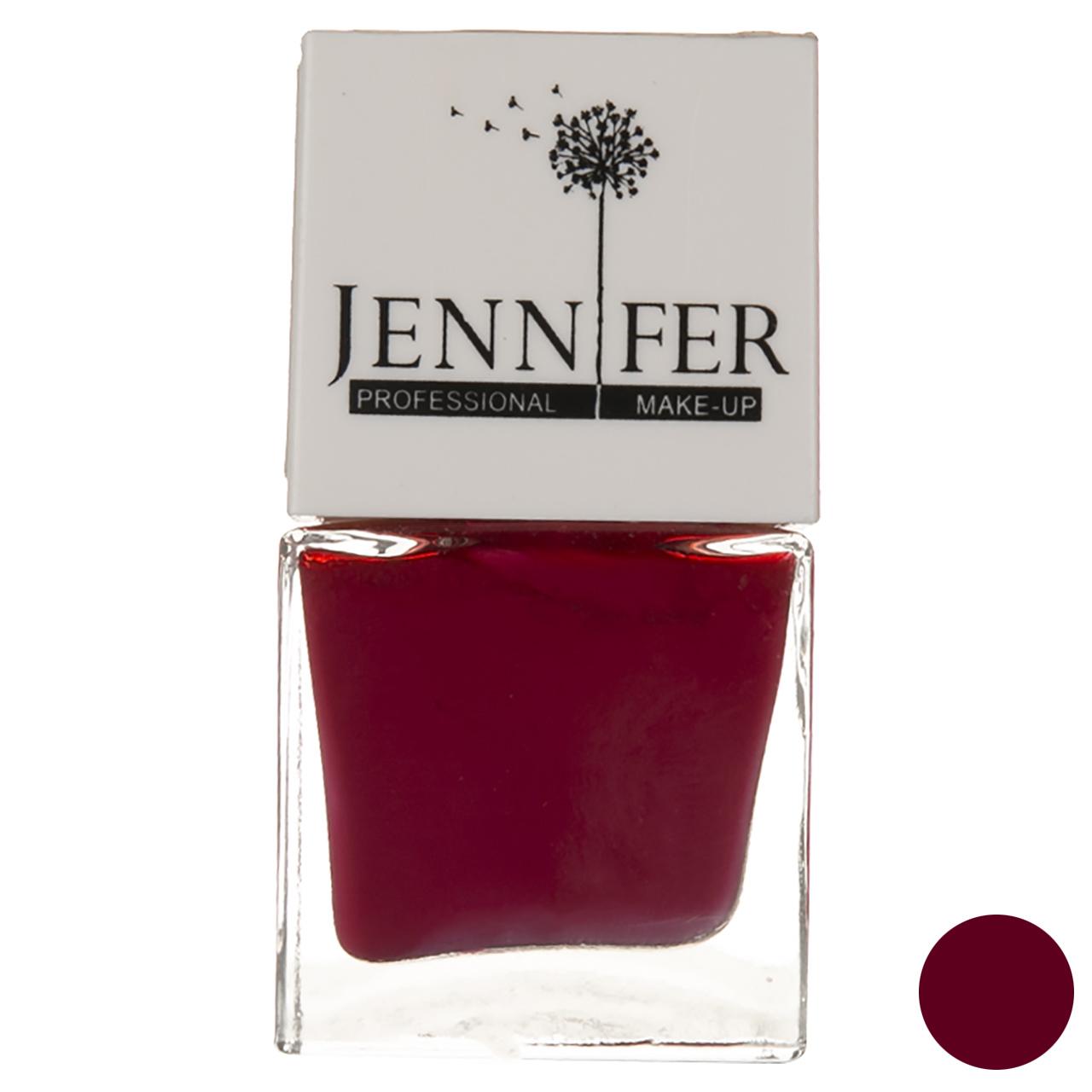 لاک ناخن جنیفر مدل JN شماره 39