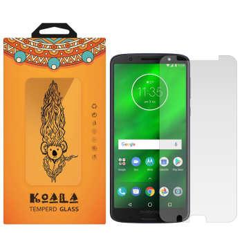 محافظ صفحه نمایش شیشه ای کوالا مدل Tempered مناسب برای گوشی موبایل موتورولا Moto G6