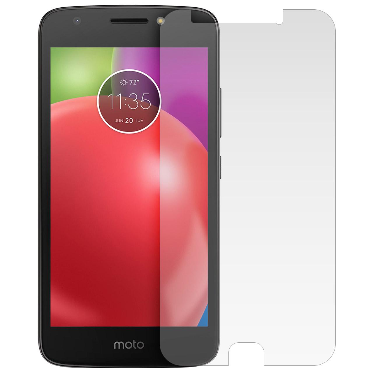 محافظ صفحه نمایش شیشه ای مدل Tempered مناسب برای گوشی موبایل موتورولا Moto E4