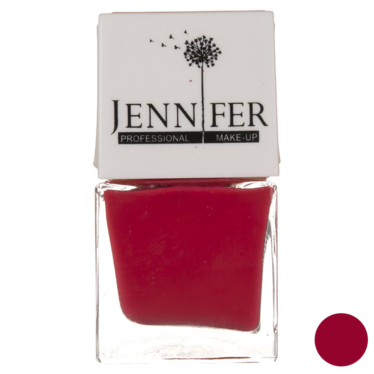 لاک ناخن جنیفر مدل JN شماره 40