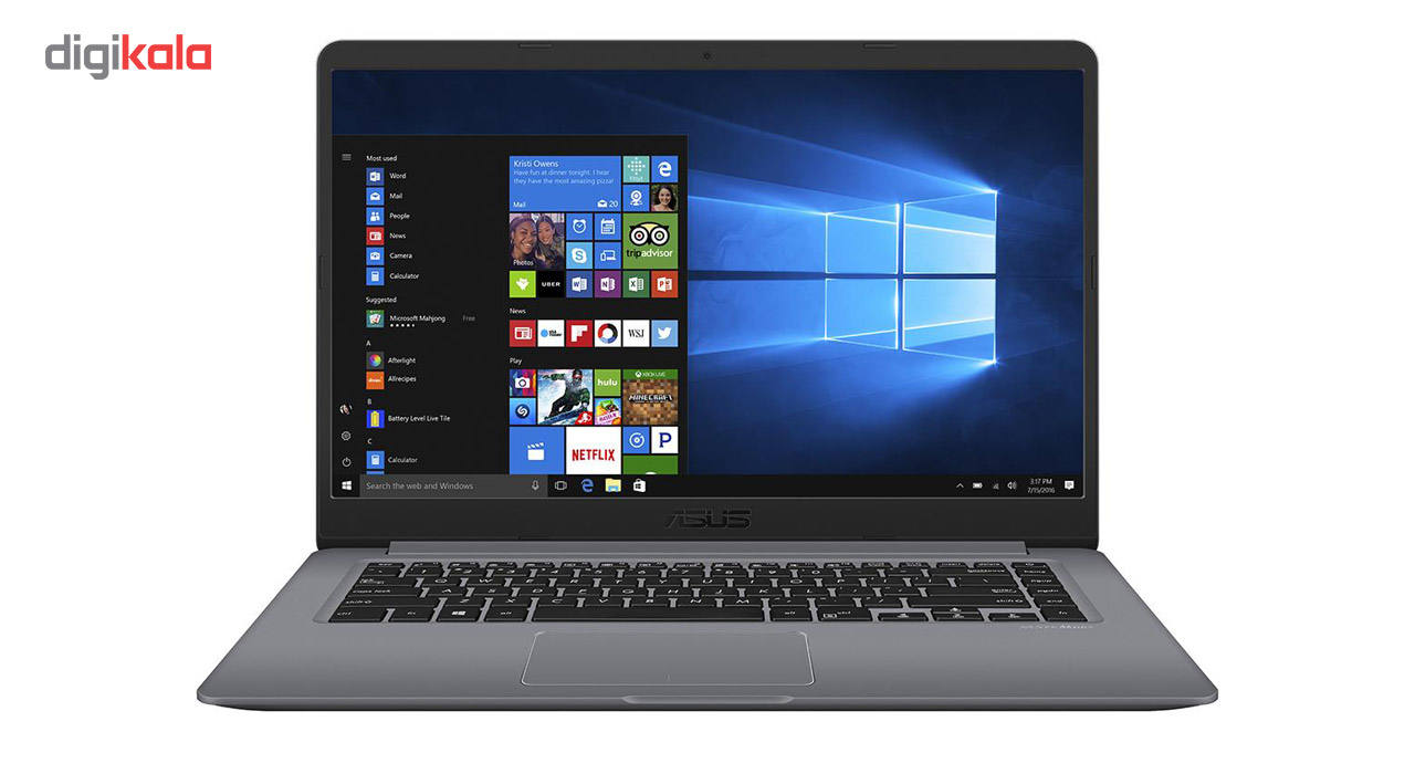 لپ تاپ 15 اینچی ایسوس مدل VivoBook X510UF – B  ASUS VivoBook X510UF – B – 15 inch Laptop