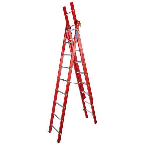 نردبان بیست و پنج پله سه تکه کد 125
