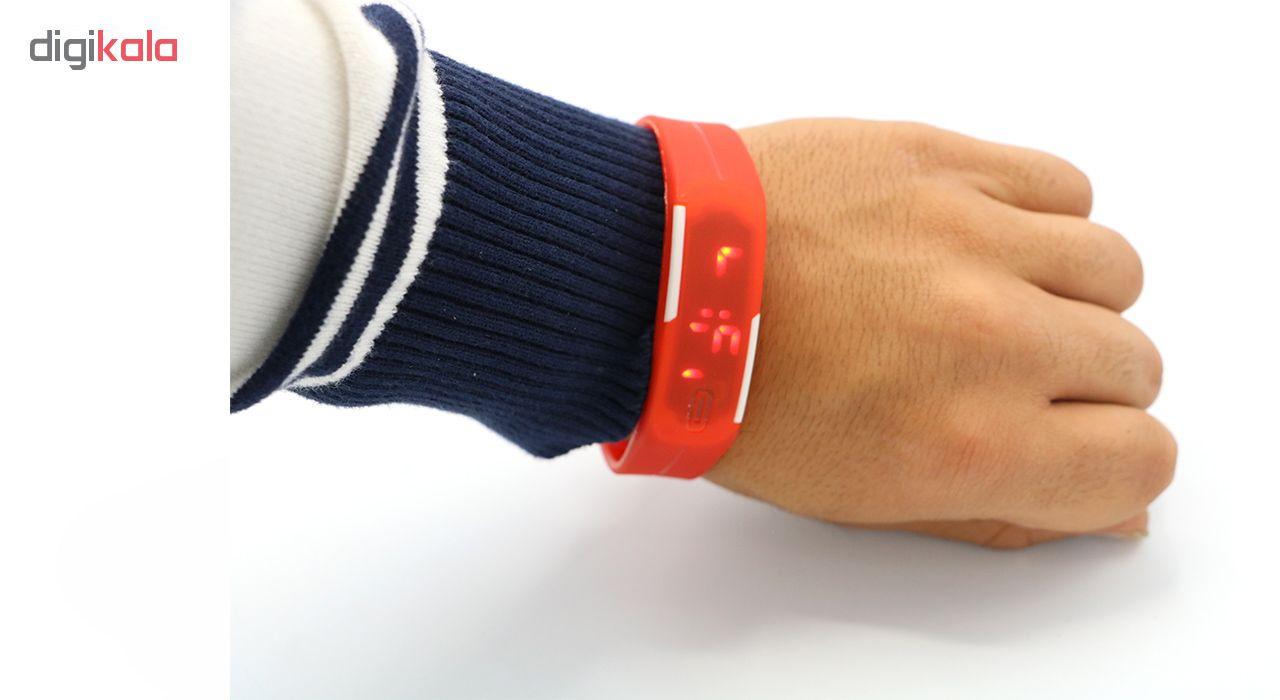 ساعت مچی دیجیتالی مدل Red Neon             قیمت