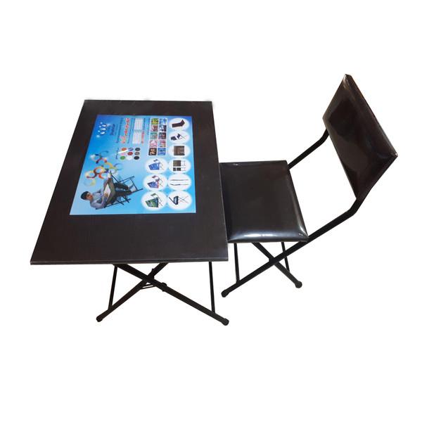 میز و صندلی تاشو شهریار مدل ونگه