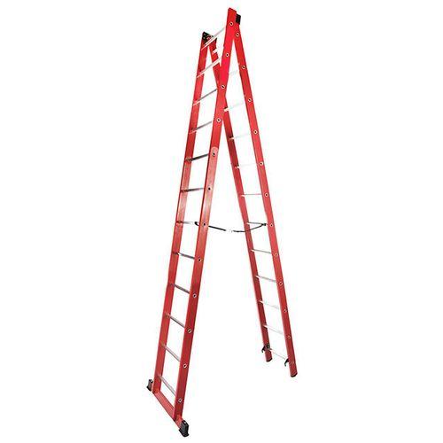 نردبان بیست و پنج پله مدل استرانگ کد 425