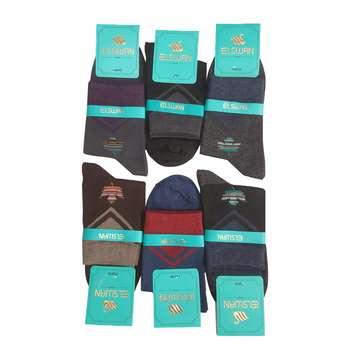 جوراب مردانه ال سون مدل برگ کد PH14 مجموعه 6 عددی