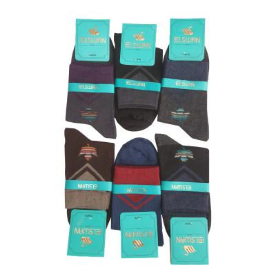 تصویر جوراب مردانه ال سون مدل برگ کد PH14 مجموعه 6 عددی