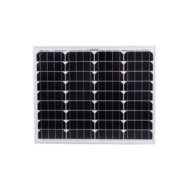 پنل خورشیدی یورونت مدل EU-M50W ظرفیت 50 وات