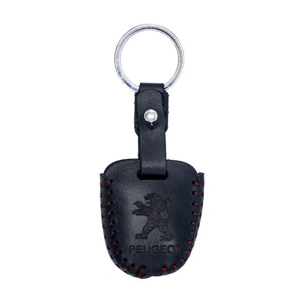جاسوئیچی خودرو چرم طبیعی کد ct-011 مناسب برای پژو 206 و 207 ،پارس جدید (عرضه کالا)