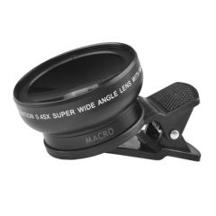 ست دو عددی لنز واید و ماکرو مخصوص دوربین تلفن همراه مدل 670