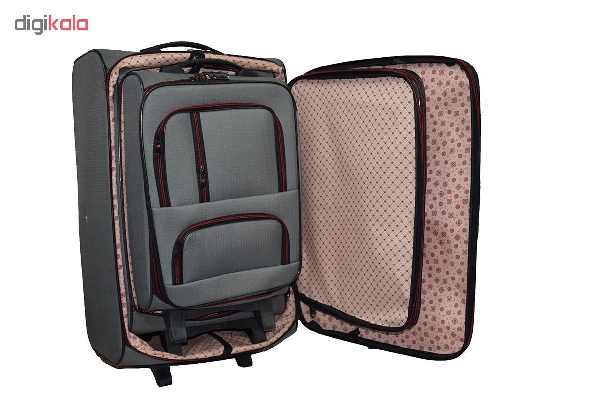 چمدان مدل ag2002 مجموعه سه عددی