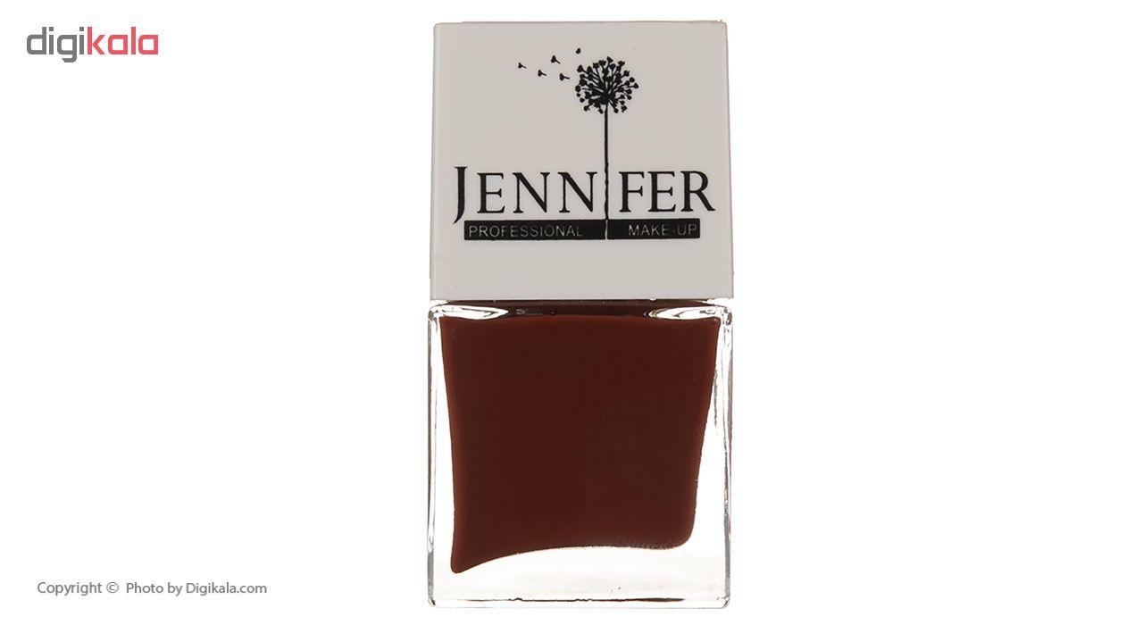 لاک ناخن جنیفر مدل JN شماره 44
