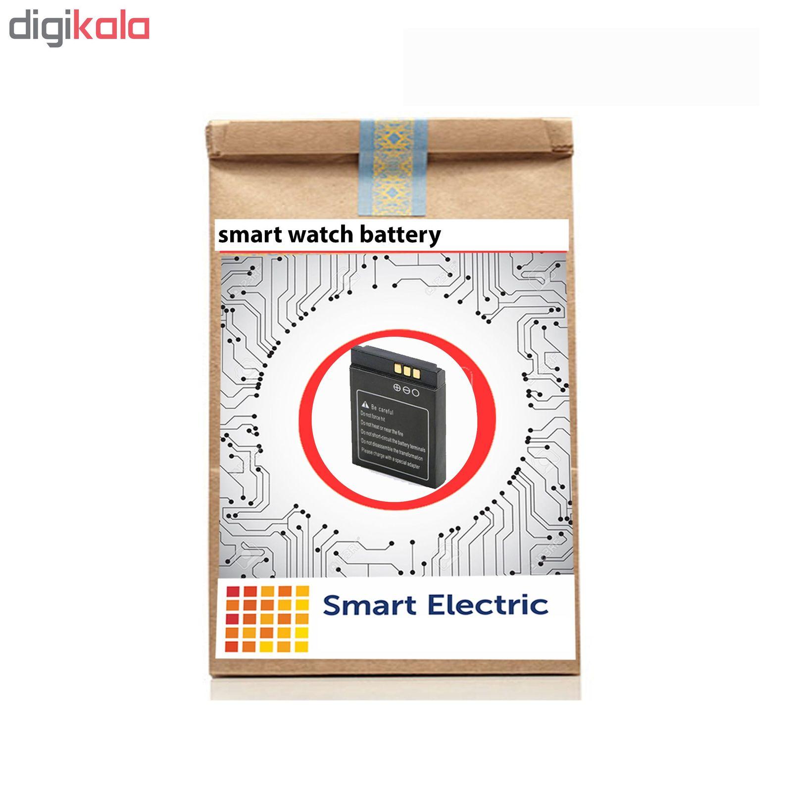 ساعت هوشمند نوا مدل A1 به همراه باتری اضافه اسمارت الکتریک main 1 6