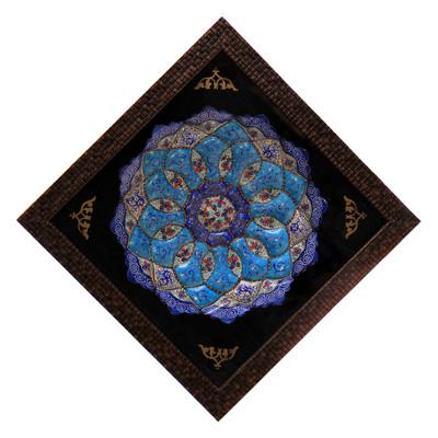 Photo of تابلو بشقاب میناکاری کد 11-10089