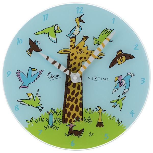 ساعت دیواری نکستایم مدل Giraffe Joy 8811