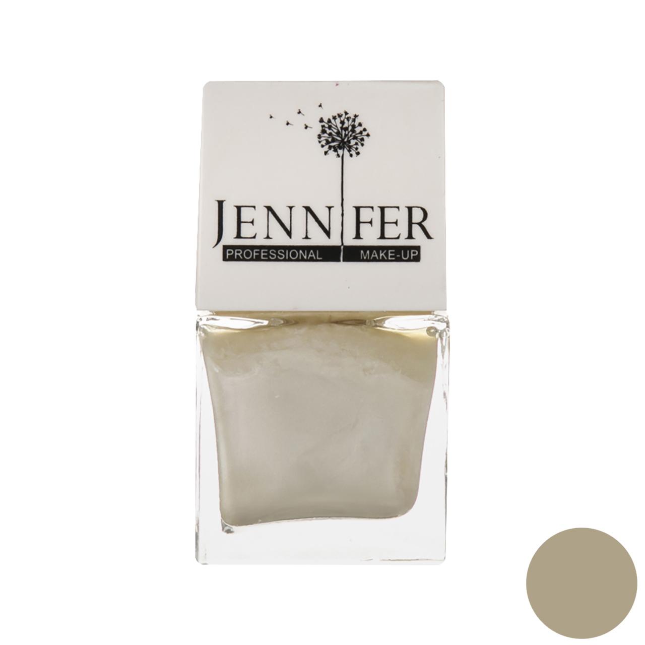 لاک ناخن جنیفر مدل JN شماره 2