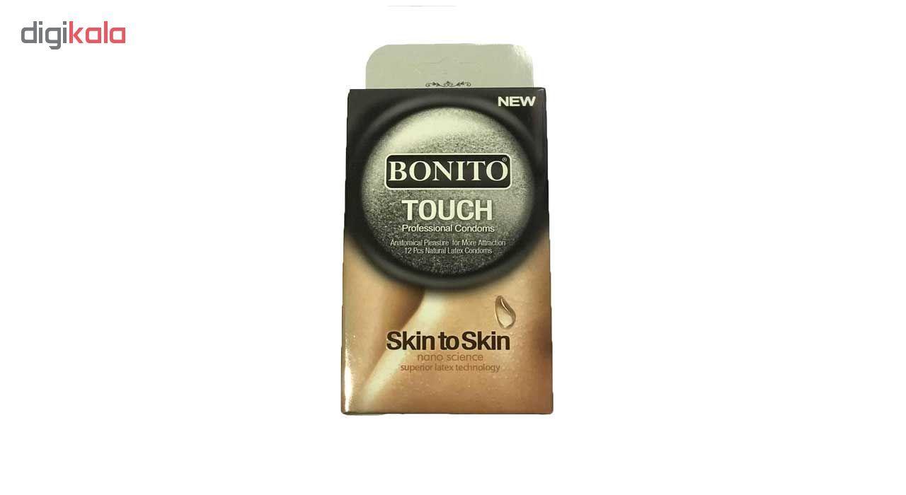 کاندوم بونیتو مدل Touch Skin To Skin بسته 12 عددی  main 1 1