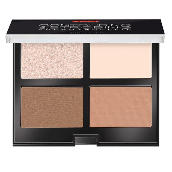 پالت کانتورینگ پوپا سری Strobing Palette مدل Light Skin شماره 01