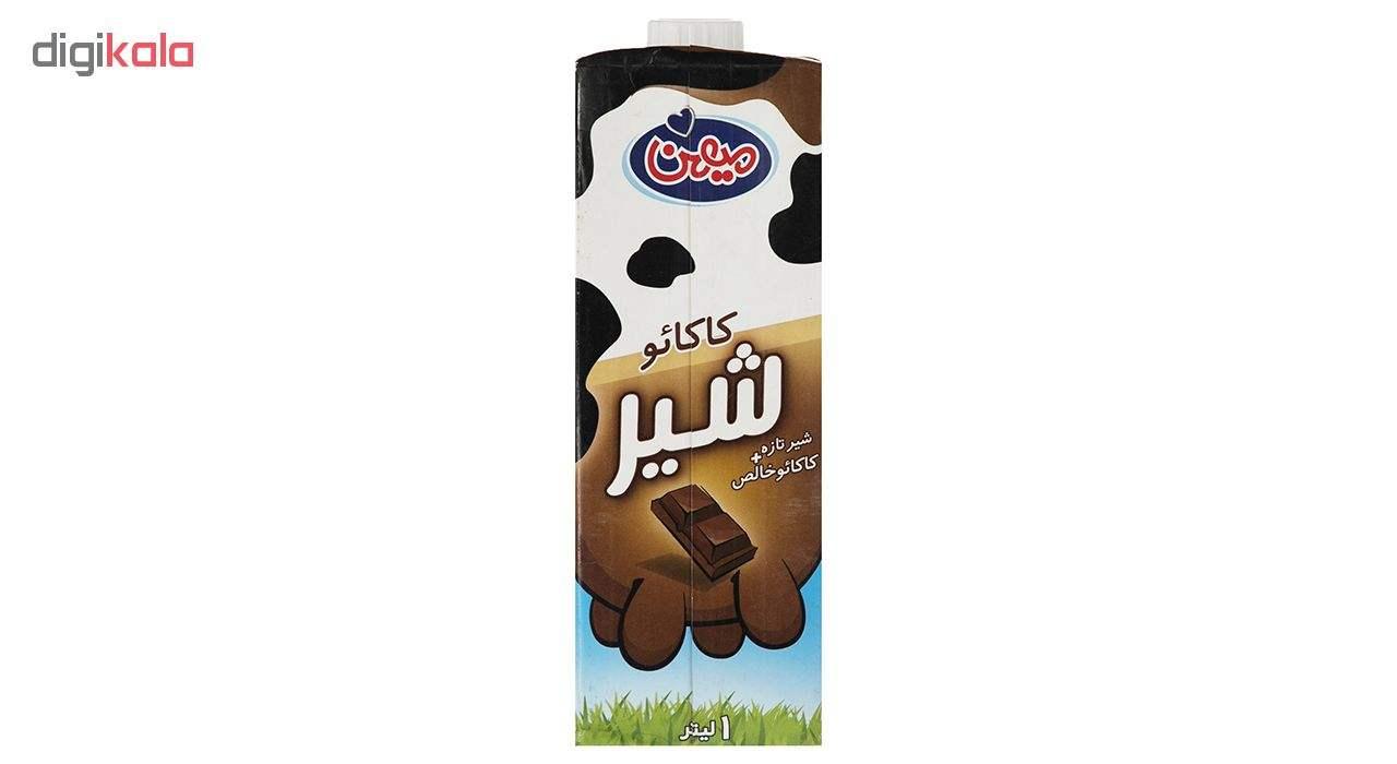 شیر کاکائو میهن مقدار 1 لیتر main 1 1