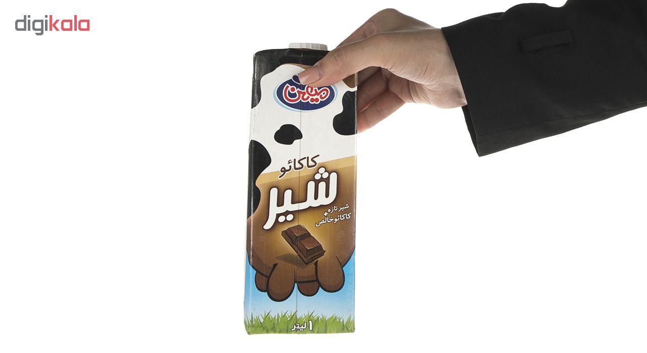 شیر کاکائو میهن مقدار 1 لیتر main 1 4
