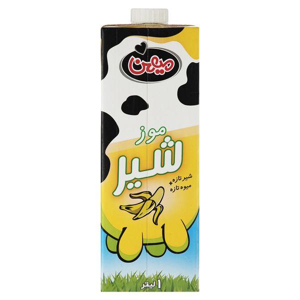 شیر موز میهن مقدار 1 لیتر | Mihan Banana Milk 1Lit
