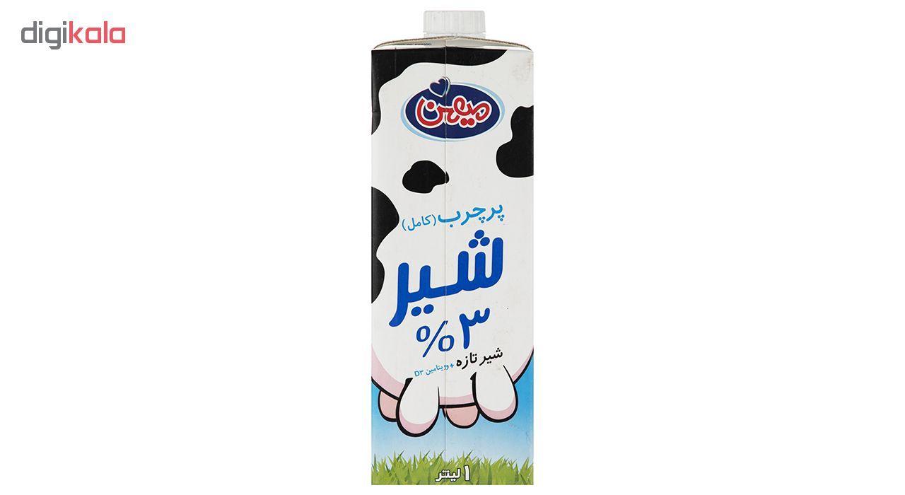 شیر پر چرب میهن حجم 1 لیتر main 1 1
