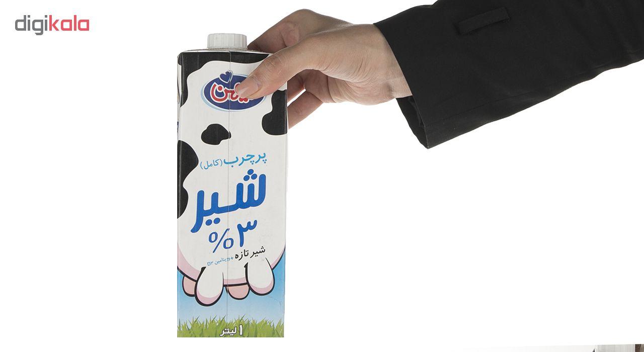 شیر پر چرب میهن - 1 لیتر