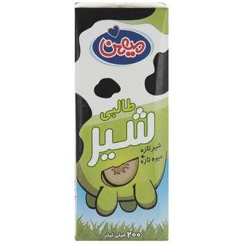 شیر طالبی میهن مقدار 0.2 لیتر