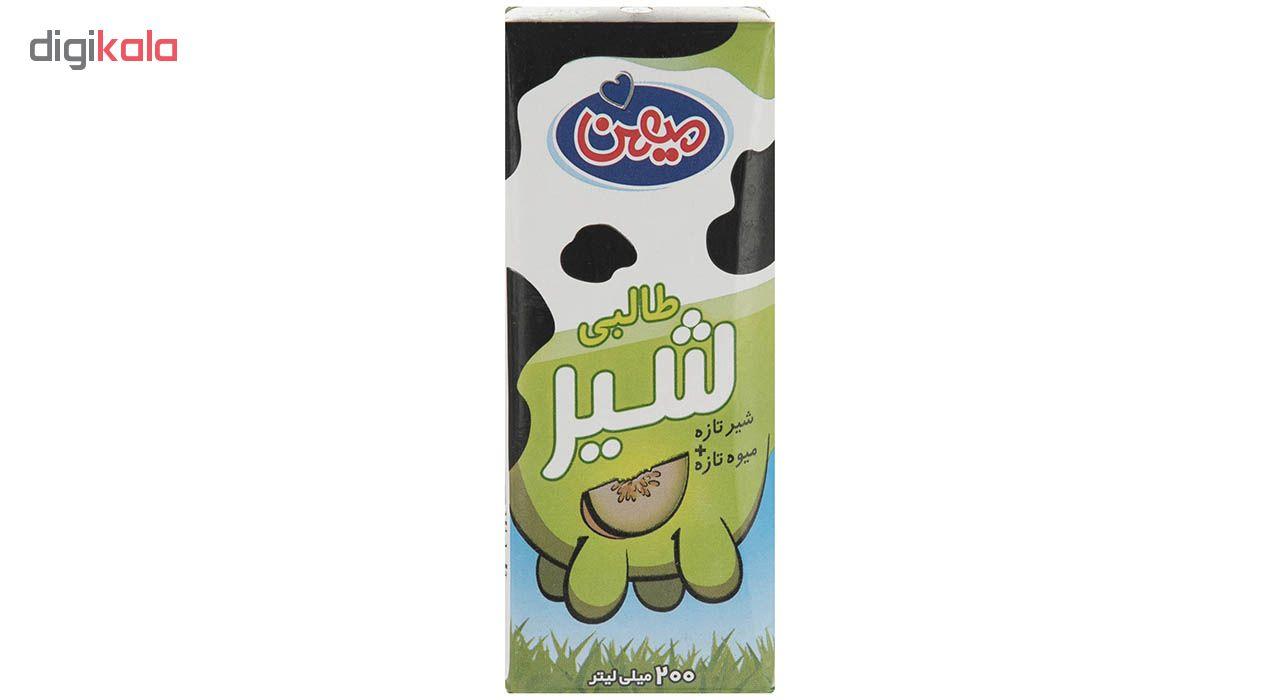 شیر طالبی میهن مقدار 0.2 لیتر main 1 1
