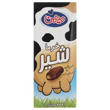 شیر خرما میهن حجم 0.2 لیتر