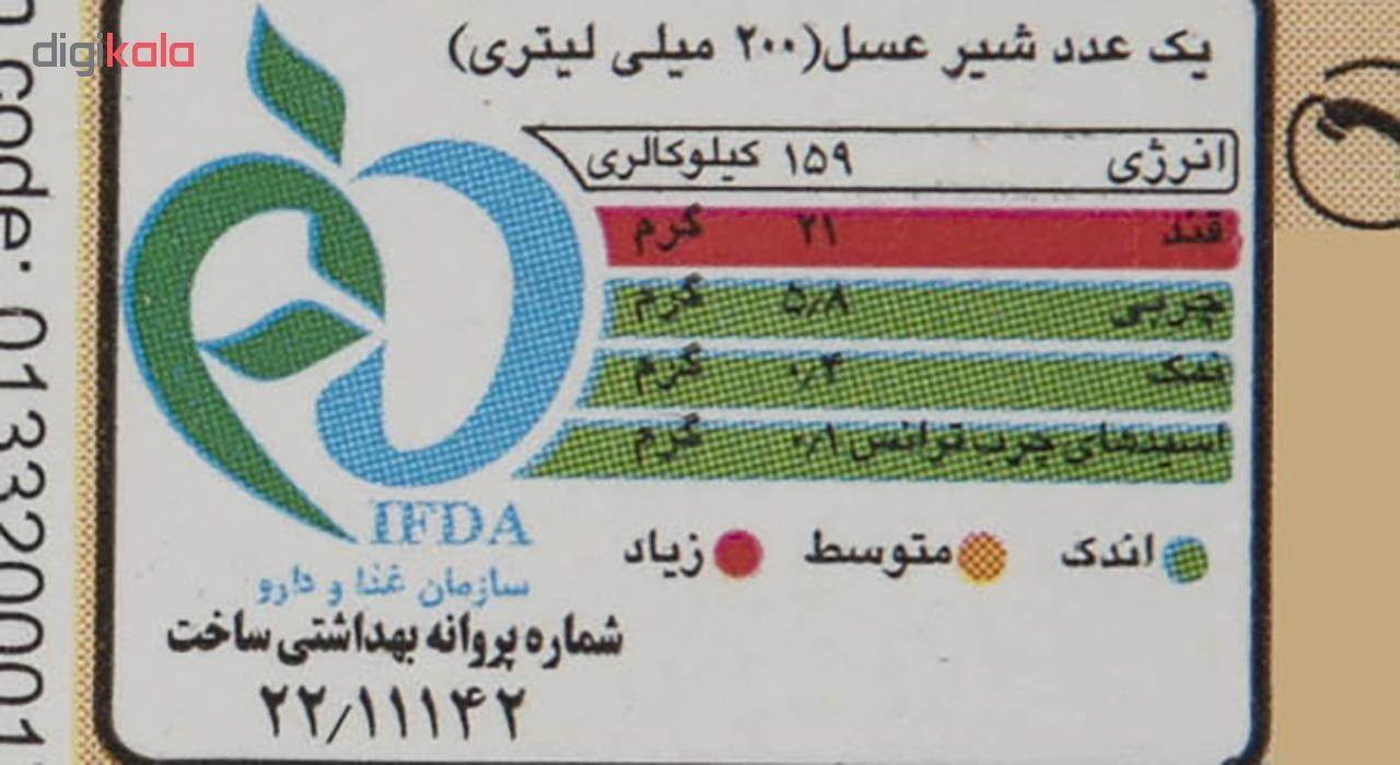 شیر عسل میهن مقدار 0.2 لیتر main 1 2