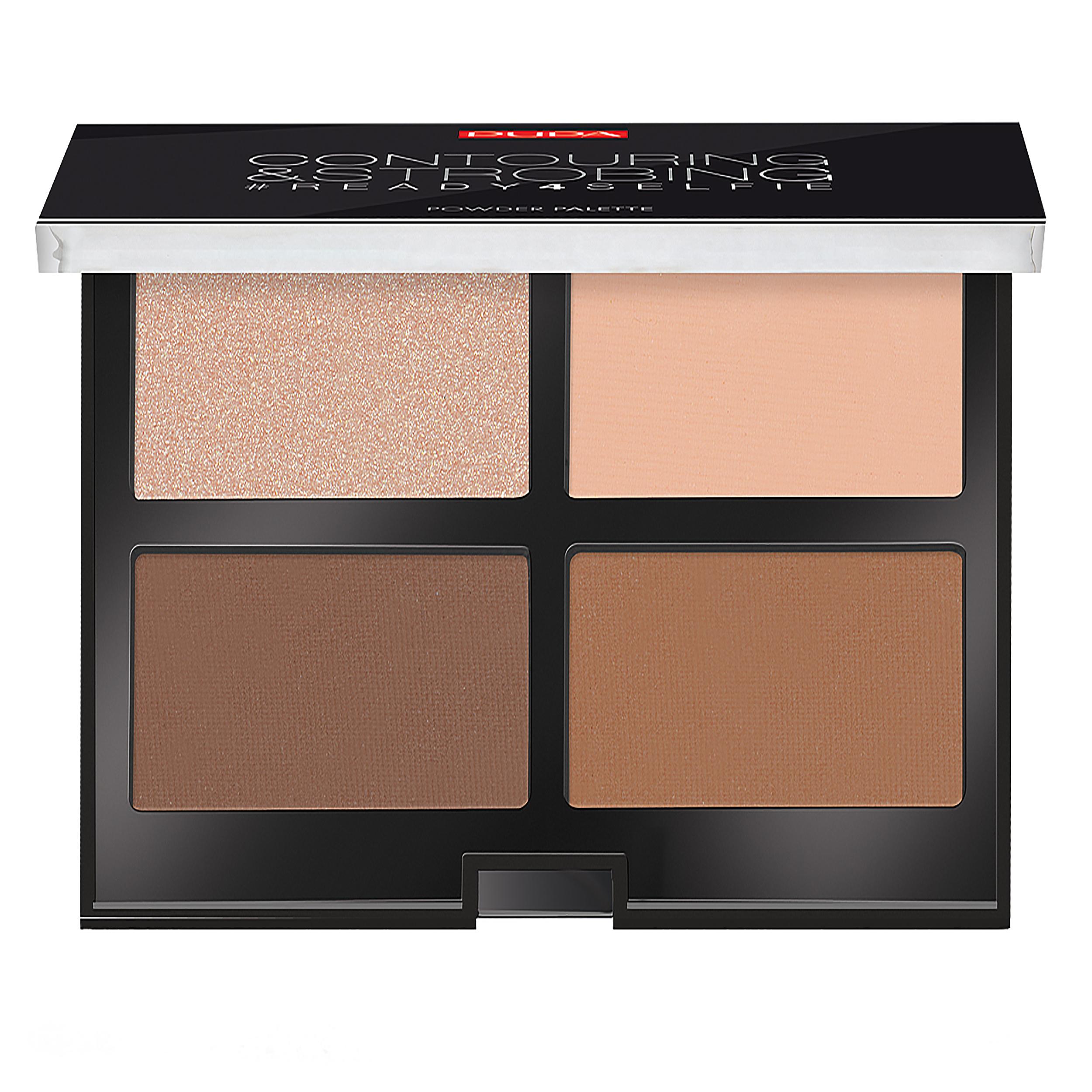 قیمت پالت کانتورینگ پوپا سری Strobing Palette مدل Dark Skin شماره 03