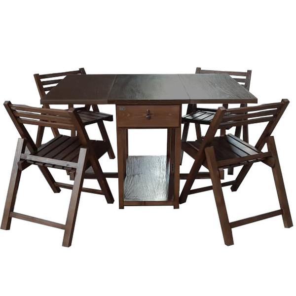 میز و صندلی ناهار خوری طرح رویال