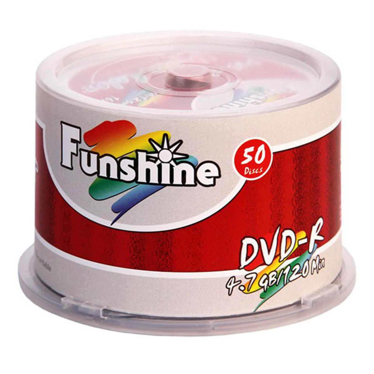دی وی دی خام فانشاین مدل DVD-R بسته 50 عددی