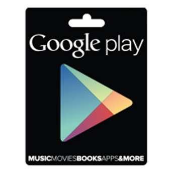 گیفت کارت 15 دلاری گوگل پلی