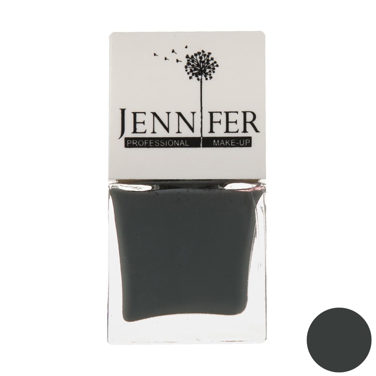 لاک ناخن جنیفر مدل JN شماره 10 به همراه سوهان ناخن