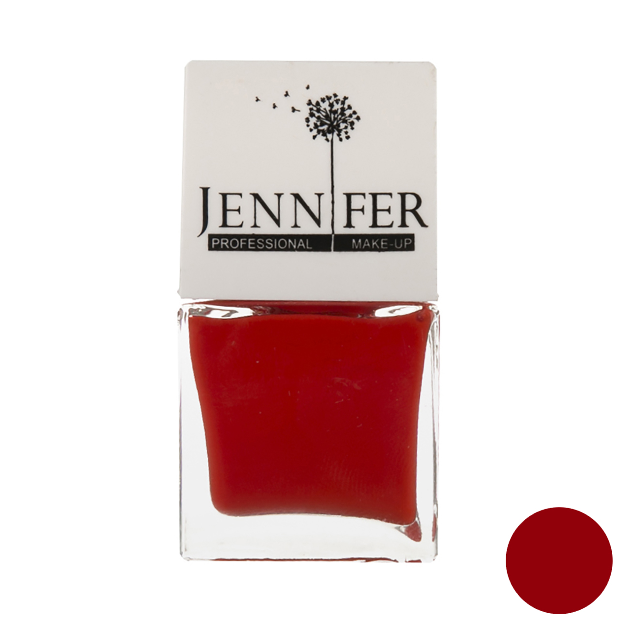 لاک ناخن جنیفر مدل JN شماره 13