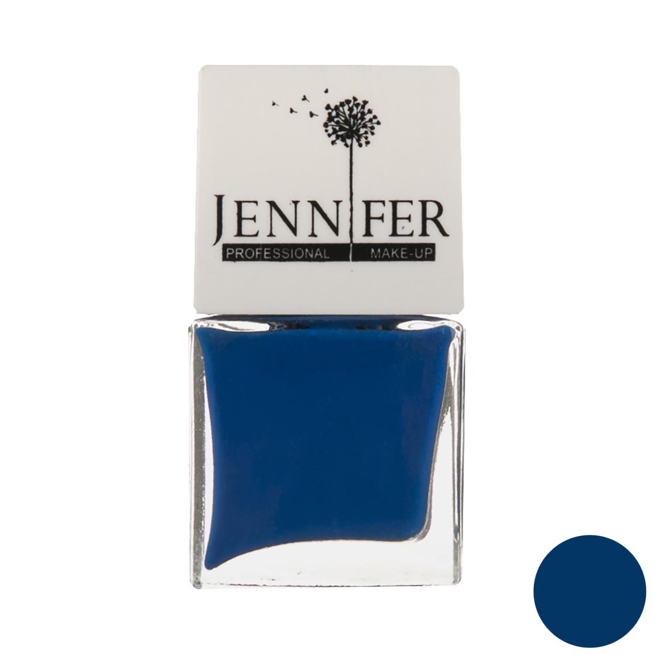 لاک ناخن جنیفر مدل JN شماره 8