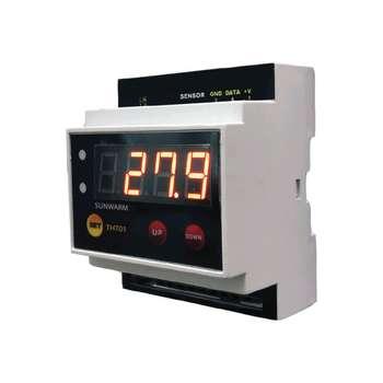 دماسنج و رطوبت سنج سان وارم مدل THT01 | SUNWARM humidity and temperature controller THT01