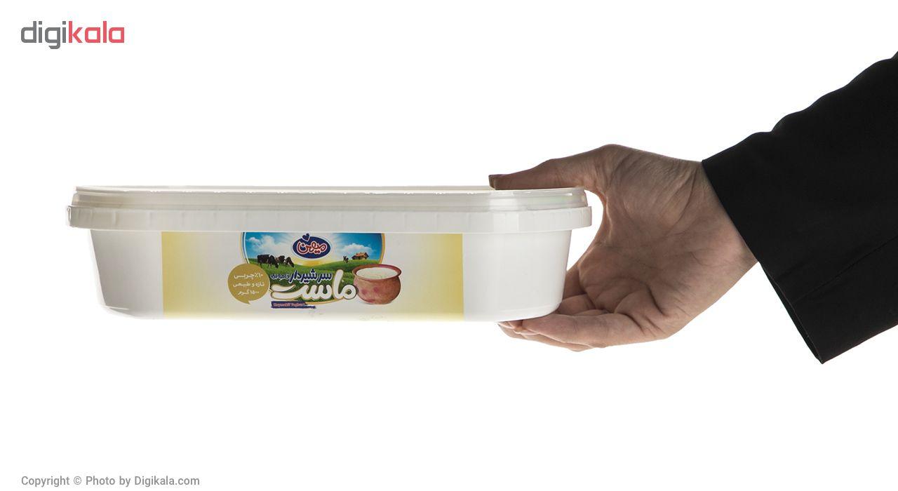 ماست سنتی سر شیر دار پر چرب میهن مقدار 1500 گرم main 1 3