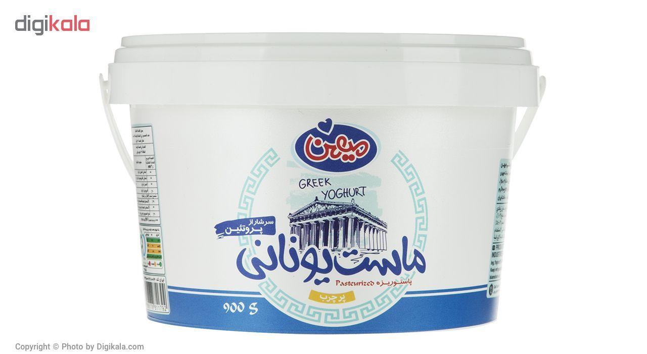 ماست یونانی پر چرب میهن مقدار 900 گرم main 1 1
