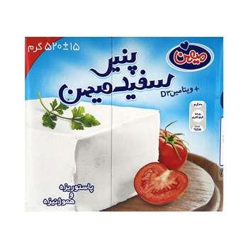 پنیر سفید میهن مقدار 520 گرم